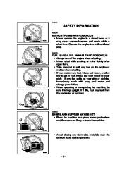 Yamaha EF2800i YG2800i Generator Owners Manual page 10