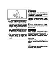 Yamaha EF2800i YG2800i Generator Owners Manual page 4