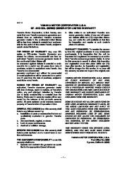 Yamaha EF2800i YG2800i Generator Owners Manual page 6
