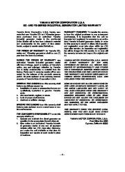 Yamaha EF2800i YG2800i Generator Owners Manual page 7