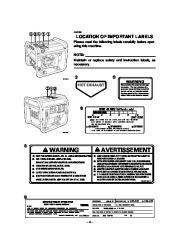 Yamaha EF2800i YG2800i Generator Owners Manual page 9