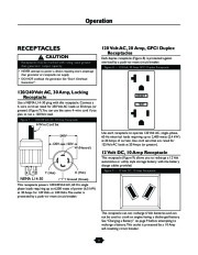Husqvarna 1365GN Generator Owners Manual, 2003,2004,2005,2006 page 11
