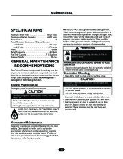 Husqvarna 1365GN Generator Owners Manual, 2003,2004,2005,2006 page 14