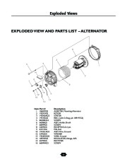Husqvarna 1365GN Generator Owners Manual, 2003,2004,2005,2006 page 22
