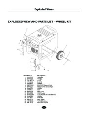 Husqvarna 1365GN Generator Owners Manual, 2003,2004,2005,2006 page 24