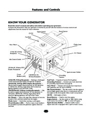 Husqvarna 1365GN Generator Owners Manual, 2003,2004,2005,2006 page 5