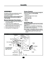 Husqvarna 1365GN Generator Owners Manual, 2003,2004,2005,2006 page 6