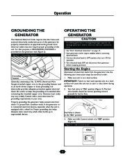 Husqvarna 1365GN Generator Owners Manual, 2003,2004,2005,2006 page 8