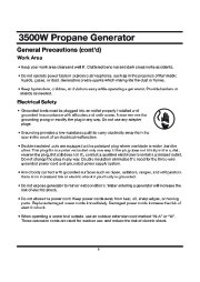 All Power America 3500 APG3535 Generator Owners Manual page 8