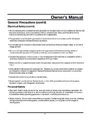 All Power America 3500 APG3535 Generator Owners Manual page 9