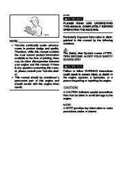 Yamaha EF1000iS Generator Owners Manual page 4
