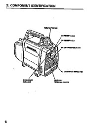 Honda Generator EX350 Owners Manual page 8