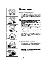 Yamaha EF4000DE EF5200DE EF6600DE YG4000D YG5200D YG6600D YG6600DE Generator Owners Manual page 11