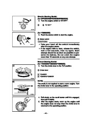 Yamaha EF4000DE EF5200DE EF6600DE YG4000D YG5200D YG6600D YG6600DE Generator Owners Manual page 25