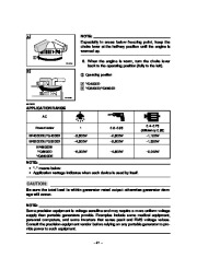 Yamaha EF4000DE EF5200DE EF6600DE YG4000D YG5200D YG6600D YG6600DE Generator Owners Manual page 26