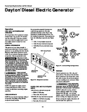 Dayton Diesel Generator 3ZC06B 4W315B Owners Manual page 12