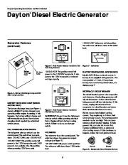 Dayton Diesel Generator 3ZC06B 4W315B Owners Manual page 6