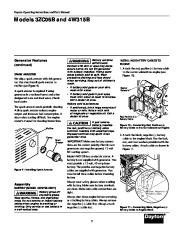 Dayton Diesel Generator 3ZC06B 4W315B Owners Manual page 7