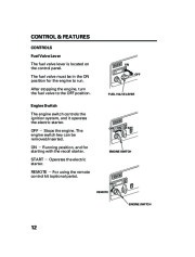 Honda Generator EM5000is EM7000is Owners Manual page 14
