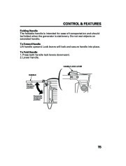 Honda Generator EM5000is EM7000is Owners Manual page 17