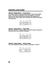 Honda Generator EM5000is EM7000is Owners Manual page 22