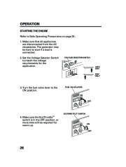 Honda Generator EM5000is EM7000is Owners Manual page 28