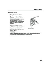 Honda Generator EM5000is EM7000is Owners Manual page 29