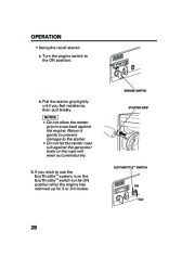 Honda Generator EM5000is EM7000is Owners Manual page 30