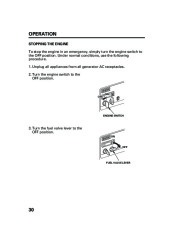 Honda Generator EM5000is EM7000is Owners Manual page 32