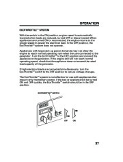 Honda Generator EM5000is EM7000is Owners Manual page 39