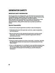 Honda Generator EM5000is EM7000is Owners Manual page 8
