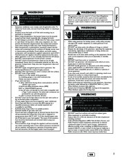 Briggs And Stratton 040248 Generator Owners Manual page 5