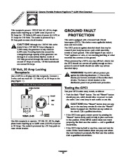 Generac Megeforce 6500 Generator Owners Manual page 10