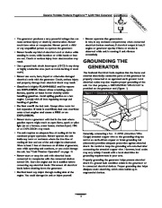 Generac Megeforce 6500 Generator Owners Manual page 3