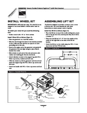Generac Megeforce 6500 Generator Owners Manual page 4