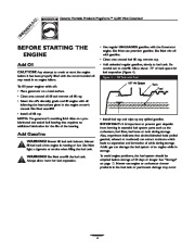 Generac Megeforce 6500 Generator Owners Manual page 6