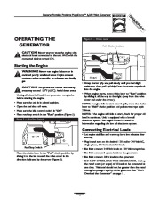 Generac Megeforce 6500 Generator Owners Manual page 7