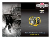 2009-2010 Briggs And Stratton Generator Catalog UK page 1