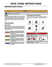 Honeywell HW1000i HW2000i Generator Owners Manual page 7