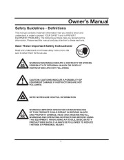 All Power America 10000 APG3090 Generator Owners Manual page 5