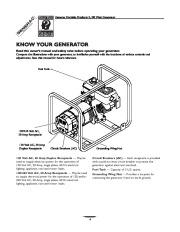 Generac 3100 Generator Owners Manual page 4
