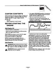 Generac 3100 Generator Owners Manual page 5