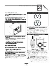 Generac 3100 Generator Owners Manual page 7