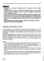 Honda Generator EM3800SX EM5000SX EM6500SX Owners Manual page 12
