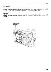 Honda Generator EM3800SX EM5000SX EM6500SX Owners Manual page 13