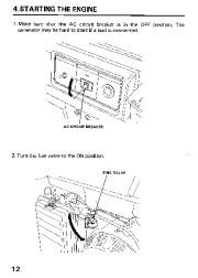 Honda Generator EM3800SX EM5000SX EM6500SX Owners Manual page 14