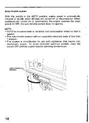 Honda Generator EM3800SX EM5000SX EM6500SX Owners Manual page 20