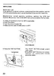 Honda Generator EM3800SX EM5000SX EM6500SX Owners Manual page 24