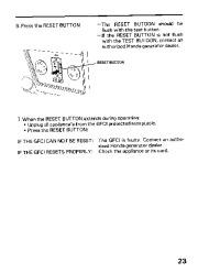 Honda Generator EM3800SX EM5000SX EM6500SX Owners Manual page 25
