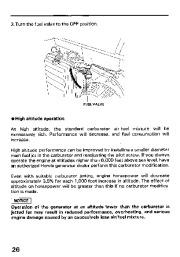 Honda Generator EM3800SX EM5000SX EM6500SX Owners Manual page 28